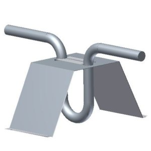 Soffit Anchors - Cast in Place (recessed) - U-Bar